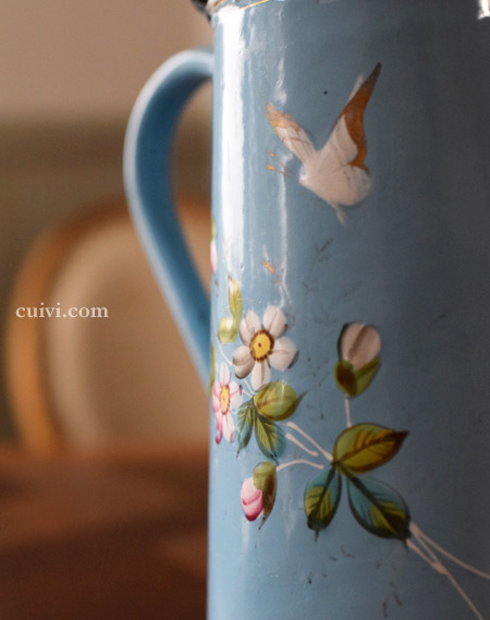 アンティークコーヒーポット