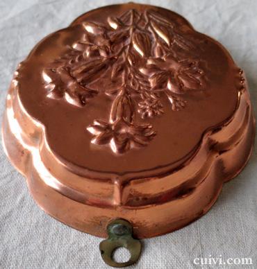 アンティーク_コッパーモールド_焼き菓子型_ケーキ型_銅