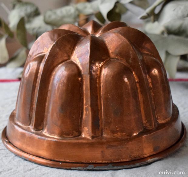 銅のケーキ型